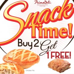 PrimaDeli: Buy 2 Get 1 Free Pastry Promotion