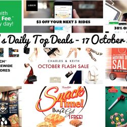 BQ's Daily Top Deals: Pezzo Pizza 50% OFF 2nd Pan Purchase, PrimaDeli Buy 2 Get 1 FREE Pastry, Gudetama Cafe Opening at End November, Casio 15% OFF Storewide, 30% OFF All GrabHitch Rides, Charles & Keith Flash Sale, Waiver of Booking Fee on GrabTaxi Rides and Uber $3 OFF Next 3 Rides