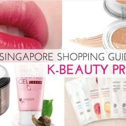 Singapore Shopping Guide to K-Beauty Products - Where and What to Buy!