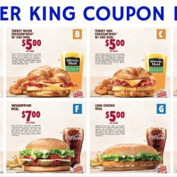 Burger King: Save up to $4.85 with Coupon Deals!