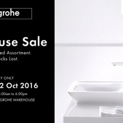 Hansgrohe: One Day Only Warehouse Sale on Bathroom Fixtures