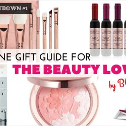 Christmas Countdown 2016 #1 - Online Gift Guide for the Beauty Lover!