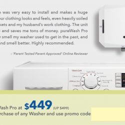 Courts: Coupon Code for Purchase of PureWash Pro at $449