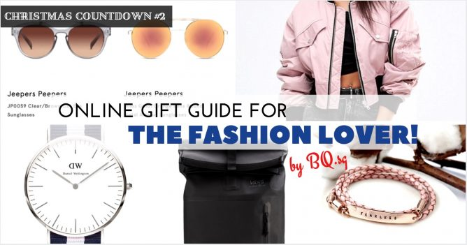 1483f0f189 BQ has the Online Gift Guide for the Beauty Lover covered previously. Now  it s time to think of presents for the Fashion Lover! Dunno what s in trend