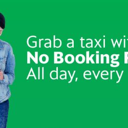 Grab: Coupon Code for Waiver of Booking Fee on Standard Taxi Rides