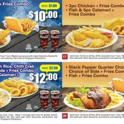 Long John Silver's: 20 e-Coupons to Save Up to $3.60!