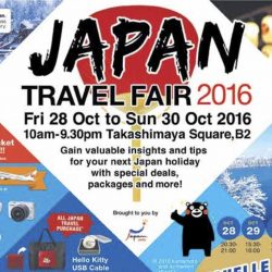 Takashimaya Square: Japan Travel Fair 2016