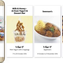 Samsung Pay: More 1-for-1 Offers with Maybank Cards + $10 Rebate!