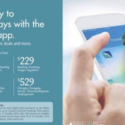 SilkAir: Exclusive Mobile App Launch Promotion Fares + FREE S.E.A Aquarium Pass for Every Flight Ticket