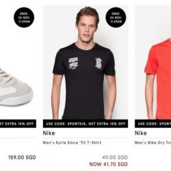 Zalora: Coupon Code for 15% OFF Selected Sports Collection