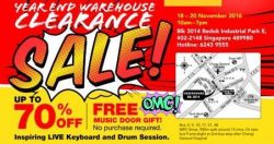 Cristofori Music School: Warehouse Clearance Sale Up to 70% OFF Musical Instruments