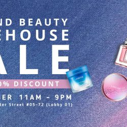 Beureka: Beauty Warehouse Sale Up to 60% OFF SKII, Versace, April Skin, Burberry, Laneige, YSL, Dior and More!