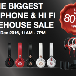 Hwee Seng Electronics: Warehouse Sale Up to 80% OFF Beats, Onkyo, Paradigm, Monster & More