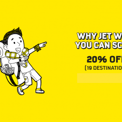 FlyScoot: Coupon Code for 20% OFF 19 Scoot Destinations!