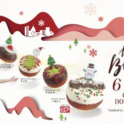 BreadTalk: Christmas Donuts Bundle at 6 for $9
