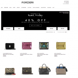 Forzieri.com Black Friday Coupon code 2016  (25% - 40% off)