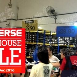 Converse: Warehouse Sale 2016 with Footwear, Apparel & Accessories from $5 Onwards!