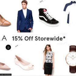 Zalora: Coupon Code for Extra 15% OFF min. $120 spend