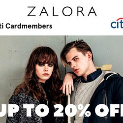 Zalora: Coupon Code for Up to 20% OFF with Citibank Cards
