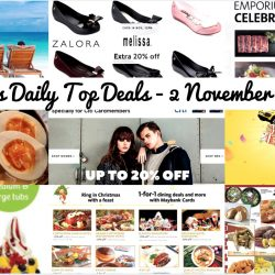 BQ's Daily Top Deals: Zalora Up to 50% OFF with Citibank Cards, Emporium Shokuhin $1 Dining Deals with OCBC Cards, Maybank 1-for-1 Dining Deals & More, KrisFlyer 30% OFF Redemption, llaollao 50% OFF 2nd Cup & More!