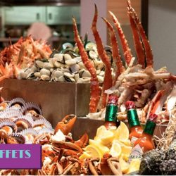 UOB Cards: Enjoy Up to 25% OFF Buffets at The Line, Shangri-La Hotel Singapore