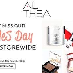 Althea: Coupon Code for 11% OFF All Korean Beauty Products!