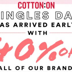 Cotton On: Online Exclusive Sale 40% OFF Full Price Items Sitewide