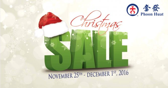 Phoon Huat   PHDelicatessen will be having a 7 days 15% OFF for all items Christmas  Sale at all outlets in Singapore 2204d350139