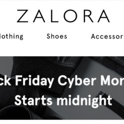 Zalora: Coupon Code for Black Friday Sale 18% OFF Storewide