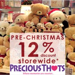 Precious Thots: Pre-Christmas Sale with 12% OFF Storewide + Special Buys