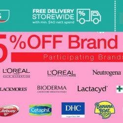 Watsons: 25% OFF Participating Brands like L'oreal, Neutrogena, Cetaphil & More + $7 OFF with Min. Spend of $30