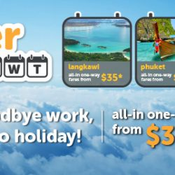 Tigerair: Airfare Promotion All-in One Way Fares from $35 to Langkawi, Phuket, Boracay & More!