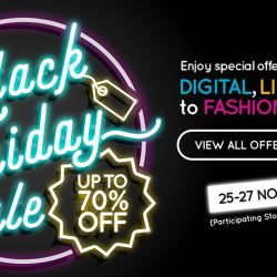 CapitaLand Malls: Black Friday Sale Up to 70% OFF H&M, Geox, World of Sports, Aerosoles & More!