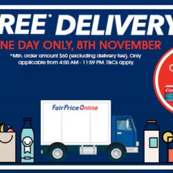 NTUC FairPrice: Coupon Code for FREE Delivery with Min. $60 Spend + Get FREE Colgate Toothpaste (24g)