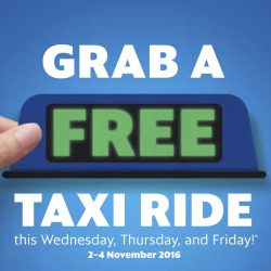 Grab: Coupon Code for A Free Taxi Ride!