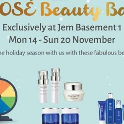 Kose: 70th Anniversary Pop Up Beauty Bar at JEM with Special Promotions