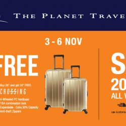 The Planet Traveller: 20% OFF All Winter Wear + Buy 1 Get 1 Free Luggage Deals