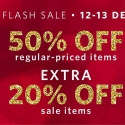 Esprit: 12.12 Sale - 50% OFF Regular Priced Items + 20% OFF Sale Items