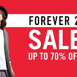 Forever 21: Sale Up to 70% OFF + 10% OFF Regular-Priced Items with UOB Cards
