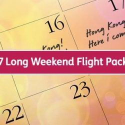 Jetstar: 2017 Ultimate Long Weekend Flight Package - 7 Flights for just $2,017 All-In Per Person!