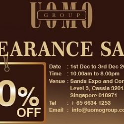 Uomo Group: Clearance Sale Up to 80% OFF the Best Italian Brands Menswear
