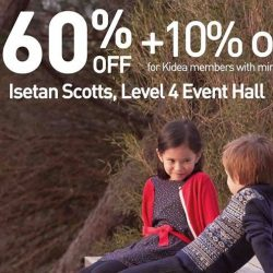 Isetan Scotts: Petit Bateau Bazaar Up to 60% OFF + Additional 10% OFF for Kidea Members