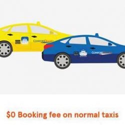 ComfortDelGro: Coupon Code for Waiver of Taxi Booking Fee
