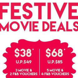 Cathay Cineplexes: Save Up to $17 with Festive Movie Deals