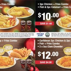 Long John Silver Singapore January 2019 Promos Sale Coupon Code