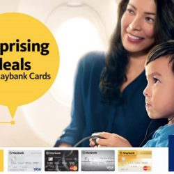 Singapore Airlines: Economy Class Fares from $168 with Maybank Cards to over 50 Destinations