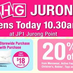 BHG Jurong: Opening Special 20% OFF All Regular Items & Many Special Buys!