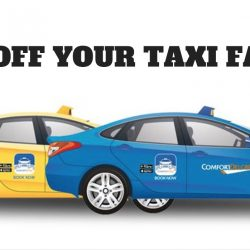 ComfortDelGro: Coupon Code for $8 OFF Your Taxi Fare