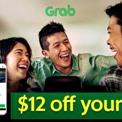 Grab: Coupon Code for $12 OFF Your GrabTaxi Ride Between 10am to 5pm