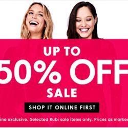 Rubi Shoes: Online Exclusive Sale Up to 50% OFF Shoes, Bags & Accessories
